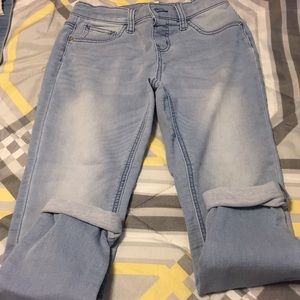 Justice size 14 mid rise jegging